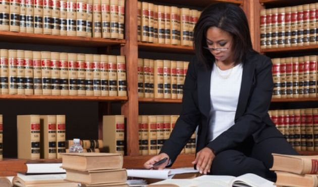 black female lawyer