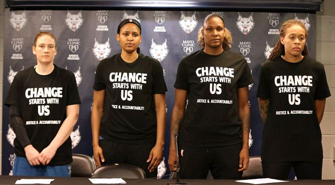 WNBA, If you want our support, you need to support us!