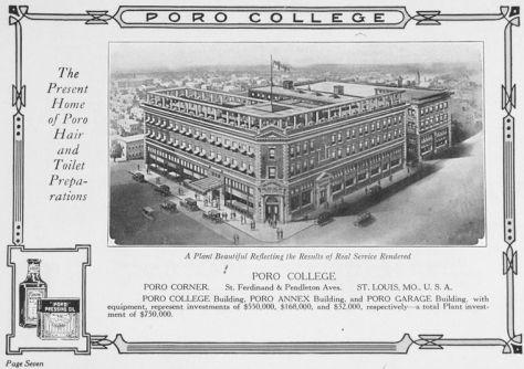Poro College advertising