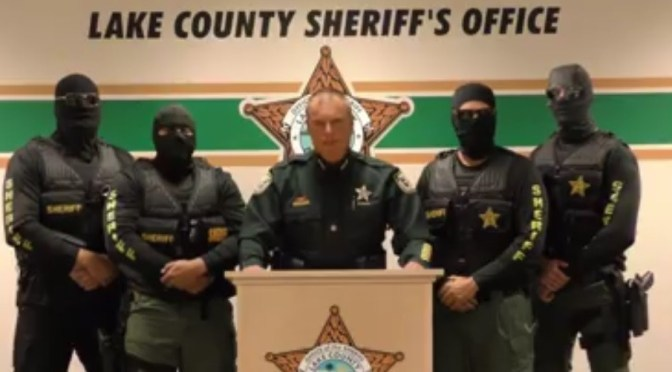 """""""We're Coming for You"""": Is There a Hidden Agenda to the Florida Sheriff's Anti-Drug Message?"""