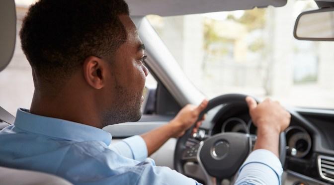 black male driver