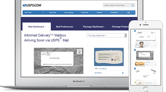 'Informed Delivery' From The US Postal Service – New Potential Evidence