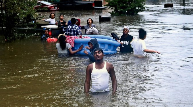 Media Largely 'Blind' to Harvey's Devastating Impact on Poor Communities