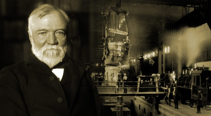 What hundreds of American public libraries owe to Carnegie's disdain for inherited wealth