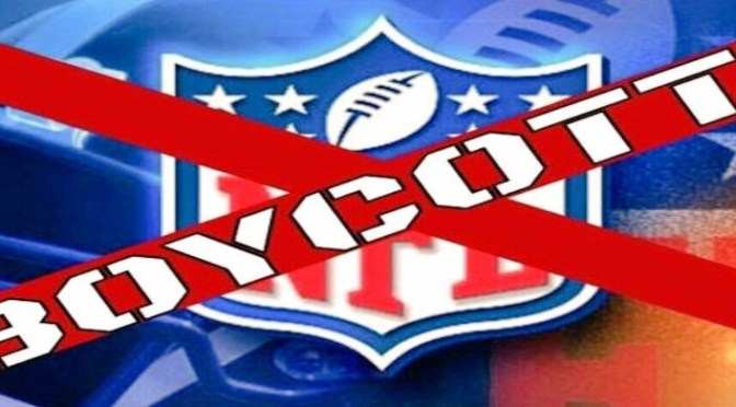 Boycott NFL if Players are Forced to Stand for Anthem
