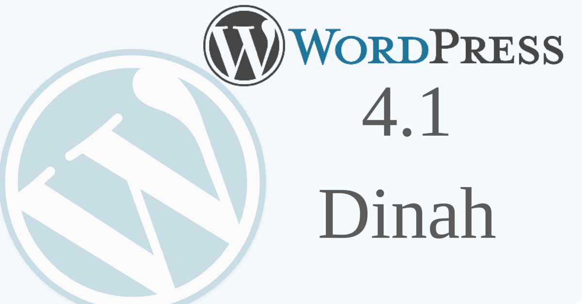#WordPress 4.1