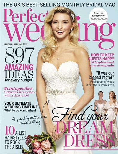 Perfect Wedding Magazine - April 2018 Subscriptions ...