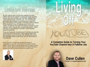 Living Off Youtube Paperback (Lulu)
