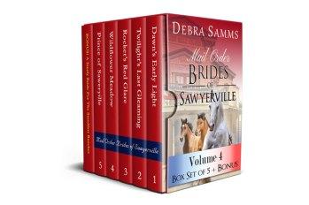Mail Order Brides of Sawyerville, Vol. 4 by Debra Samms