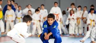 Doble cita de kárate y judo en el pabellón de sa Pedrera
