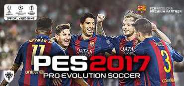 Pro Evolution Soccer 2017 Crack For PC