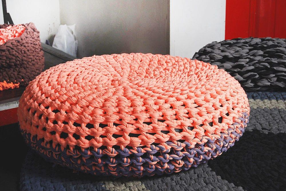 Толстые нитки для вязания ковриков крючком 12