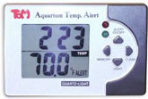 TOM Aquarium Temp Alert Fahrenheit Digital Thermometer