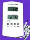Digital hygrometer thermometer combo unit