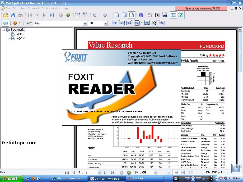 PDF Reader for Windows 10 - Free download and