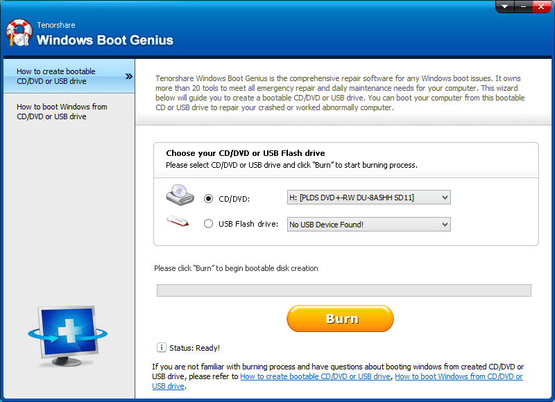 tenorshare windows boot genius  software