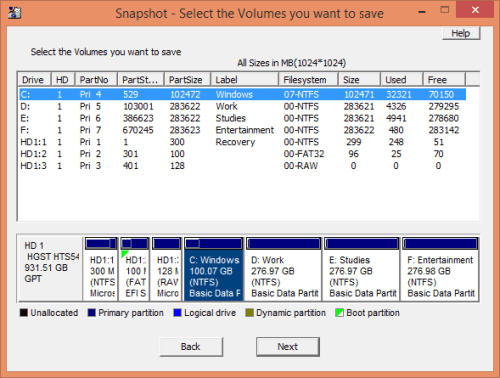 Drive SnapShot 1.44 Serial Keys Free Download