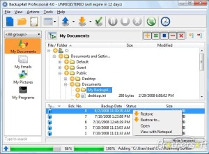 BackUp4All Professional 5 Crack & Serial Key Free Download