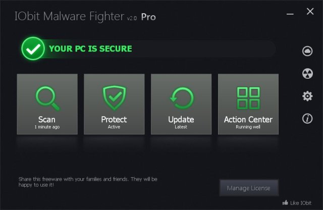 IObit Malware Fighter Pro Crack 4.4.0.3072 Download