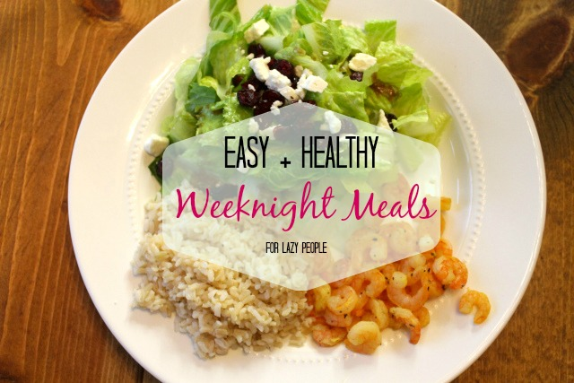 Easy Weeknight Meal + My All-Time Favorite Salad