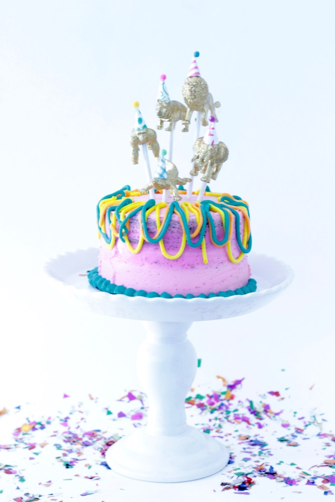 Party Animal Cake Topper