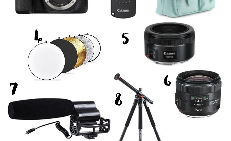 Camera Gear for Bloggers and New Photographers