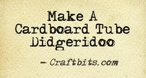 Make A Cardboard Tube Didgeridoo