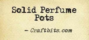 Solid Perfume Pots