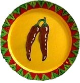 Chili Decorative Plate