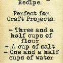 baking dough recipe