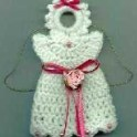 Crochet Angel Fridgie