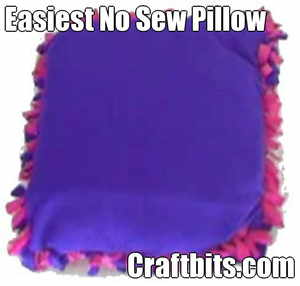 no-sew-pillow