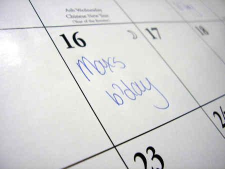 Memory Calendar