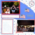 Independence Day Layout