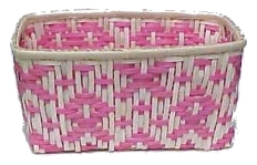 Weave A Basket In Pink Ribbon Design