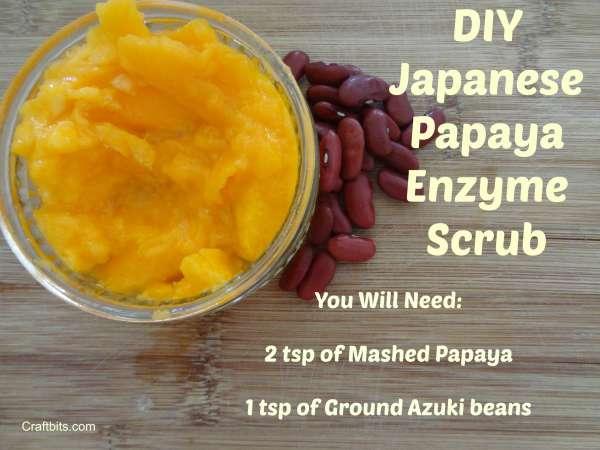 Japanese Papaya Enzyme Scrub