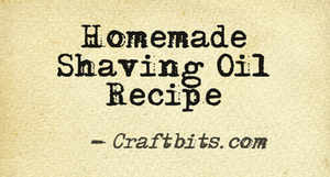 homemade-shaving-oil