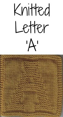 Knitted Letter Cloth – A