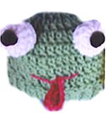 Froggie Child's Hat: Crochet Pattern