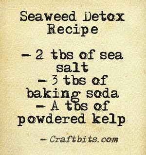 Bath Salt – Seaweed Detox