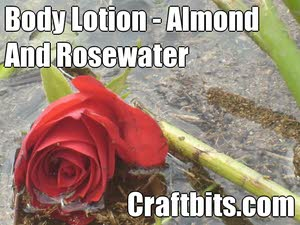 Body Lotion – Almond & Rosewater