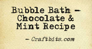 Bubble Bath – Chocolate & Mint