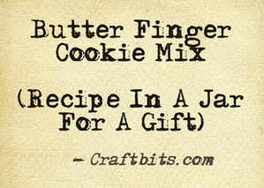 Butter Finger Cookie Mix