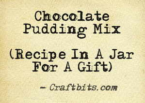 chocolate-pudding-mix