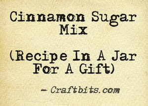 Cinnamon Sugar Mix