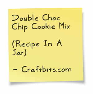 Double Choc Chip Cookie Mix