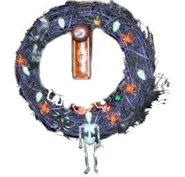 Halloween Trinket Wreath