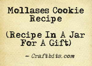 Mollases Cookie Mix