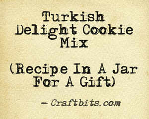 Turkish Delight Cookie Mix