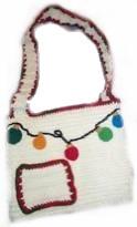Christmas Crochet Tote